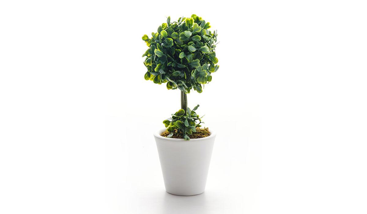 Fiori artificiali e piante come quelli veri
